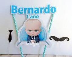 Resultado de imagem para boss baby festa Boss Baby, Party In A Box, Baby Party, Baby Birthday, Party Themes, Party Ideas, Toy Chest, First Birthdays, Smurfs