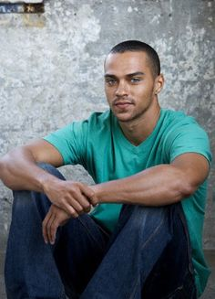 It's those eyes! Jesse Williams you be fine!