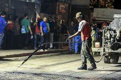 Recuperación vial a través de la Fiesta del Asfalto • Gobierno del Distrito Capital, Calle Pinto Salinas y Simón Rodríguez parrq. El Recreo 10-09-15