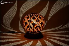These One-Of-A-Kind Lamps Are Made From Gourds