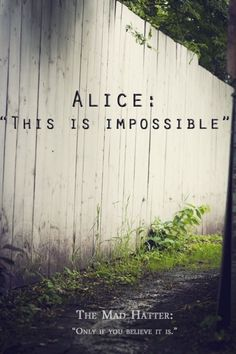 Alice In Wonderland Quote 8. Picture Quotes.