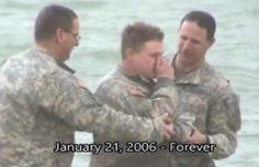 Portal de Notícias Proclamai o Evangelho Brasil: Soldado dos EUA é batizado no rio Eufrates, durant...