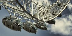 Experience the London Eye with daily direct flights to London from Newcastle Airport