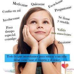 Respeto y amor son las raíces del árbol de la educación. Tiene muchas ramas, pero todas surgen de ahí. Jane Nelsen, Raising Hope, Happy Kids, Base, Kids Psychology, Positive Discipline, Kids Education, Self Esteem, Learning