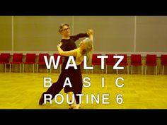 How to Dance Waltz - Basic Routine 6