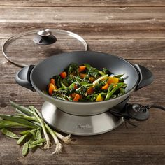 Breville Stainless-Steel Electric Hot Wok | Williams-Sonoma
