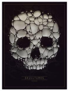 SKULLTURES by DSORDER, via Behance