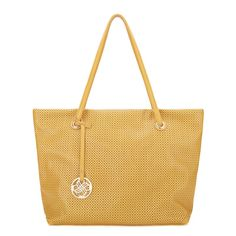 JSR Cut-Out Detail Tote - Yellow [170466-03] - $35.00