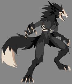 Dark Creatures, Cute Fantasy Creatures, Mythical Creatures Art, Creature Drawings, Animal Drawings, Roi Lion Simba, Creepy Animals, Anime Monsters, Dark Art Drawings