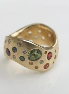 CAELE ring by Debra Fallowfield