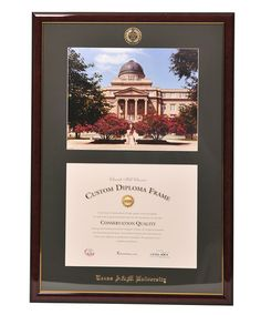 c93d6c2ff4d1 Diploma Frame by Churchill Classics University Diploma