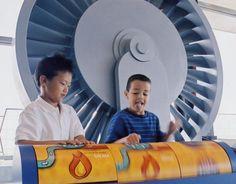 Niagara Power Project Power Vista - FREE admission!  Children enjoy exhibits at Power Vista.