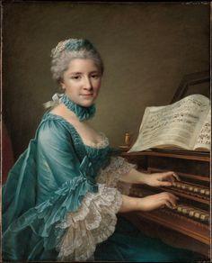 François Hubert Drouais, Portrait of a Woman, said to be Madame Charles Simon Favart (Marie Justine Benoîte Duronceray, 1727–1772), 1757