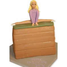 The Cake Store - Gymnastics Cake, £119.00 (http://www.thecakestore.co.uk/gymnastics-cake/)