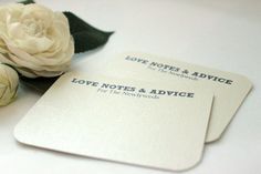 Hey, I found this really awesome Etsy listing at http://www.etsy.com/listing/150281110/100-comment-cards-love-notes-advice