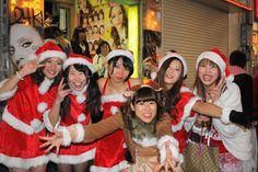 渋谷のサンタのコスプレ写真26