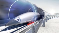 PriestmanGoode has designed spaceship-inspired passenger cabins for a company that is building high-speed Hyperloop transport networks all around the world