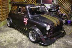 Original Mini rally racer