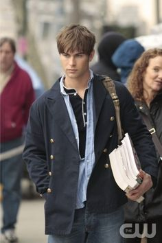 """Desperately Seeking Serena"" -- Pictured Chace Crawford as Nate in GOSSIP GIRL on The CW. PHOTO: Giovanni Rufino/THE CW ©2008 THE CW NETWORK, ALL RIGHTS RESERVED."