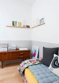 20 Amazing Kids Rooms With Two-Tone Walls To Get Inspired Kidsomania | Kidsomania
