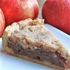 """Apple Crumble Pie 