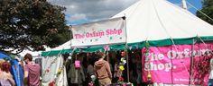 The Oxfam Festival Shop at Latitude Festival