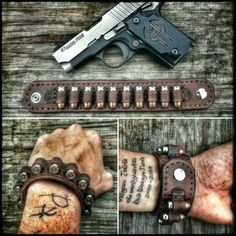 Wristband that holds ammo