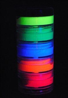 Tinta para Rosto com 5 Cores Fluorescente