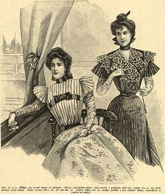 Stroje do teatru, 1897 Theatre outfits, 1897