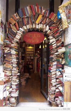 Arch of Books