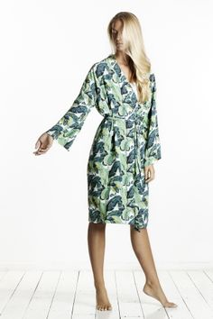 masini&chern. Banana Leaf Robe