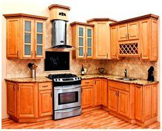 Maple Madera Muebles de Cocina