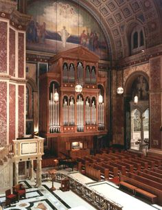 The Cathedral of St. Matthew- Washington, DC - Lively-Fulcher Organbuilders