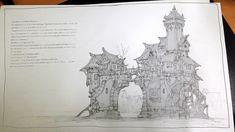 ArtStation - Sketch practice, Il su Ko