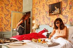 For Chambre 20 Calle took to a hotel bed for a week (Sophie Calle)