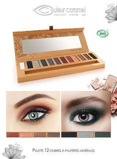 Palette eye essential de Couleur Caramel, maquillage bio