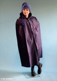 Pvc Apron, Rain Wear, Capes, Rain Jacket, Windbreaker, Raincoat, How To Wear, Jackets, Men