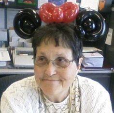 Girl Mouse Ears Headband