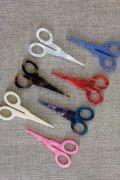 Breloques miniatures imitant les ciseaux à broder Sajou. Charms imitating our embroidery scissors.