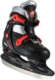 57eae2227fd American Athletic Shoe Youth Cougar Adjustable Hockey Skates