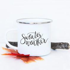 Sweater Weather - Fall Camp Fire Mug