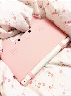 phone cover nintendo ipad case cats cat ears cute pink