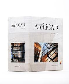 2001- Archicad 7.0: Junto a la aplicación ArchiCAD 7.0 se incluye una serie de plug-ins que permiten obtener a partir de una fotografía en perspectiva una proyección ortogonal (ArchiFaçade), realizar complejos modelados de terreno (ArchiTerra), generar formas complejas sin necesidad de GDL (ArchiForma), ,(ArchiPaint), etc., con el consiguiente ahorro de tiempo para el arquitecto y aumentando con ello la productividad. PVP: 4.173,68 € . El precio comercial de la licencia no ha variado mucho.