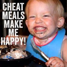 What people feels during cheat meals!