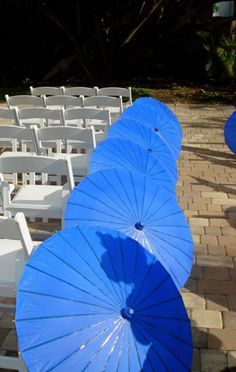 Great idea! I don't want to move my wedding indoors unless it's a windy downpour!
