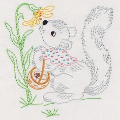 1940s vintage embroidery designs for baby blankets - Google'da Ara