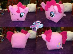 Cube Pinkie Pie by angel99percent.deviantart.com on @DeviantArt