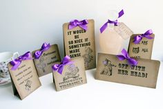 Alice in Wonderland Party Supplies- Mad Quote Table Centerpieces