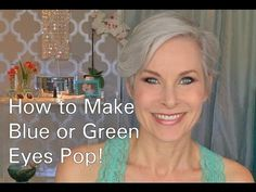 From Drab To Fab - Start To Finish Glamour For The Mature Face - YouTube