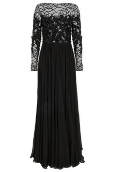 Lace and Georgette Gown By ELIE SAAB @ http://www.boutique1.com/